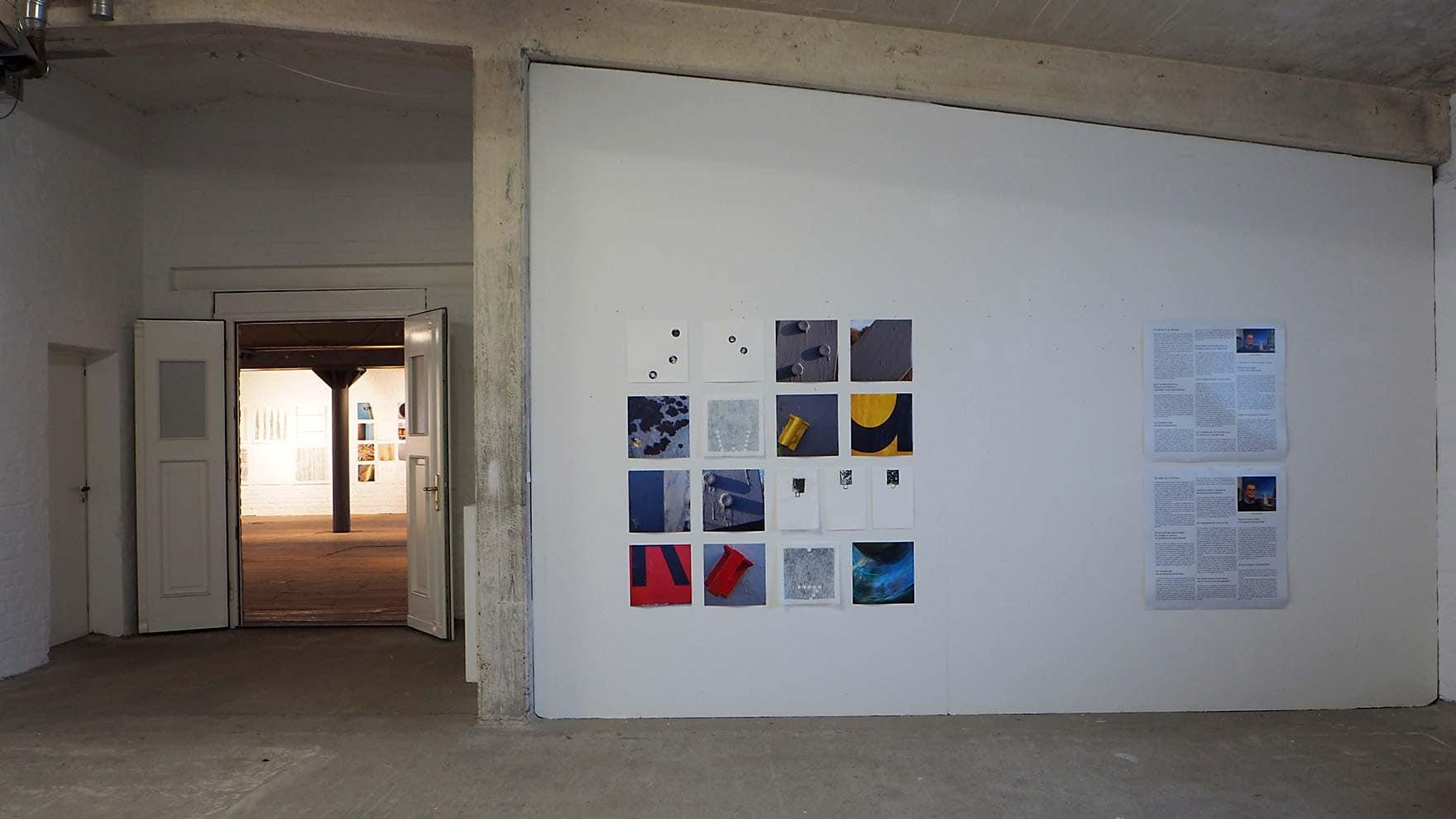 stroom Enschede - expositie in Kulturspeicher Dörenthe; inktdrukken op ertspapier en wenzhou, frottages op wenzhou, foto's en interviewteksten